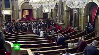 Испанский премьер призвал новый парламент Каталонии соблюдать конституцию