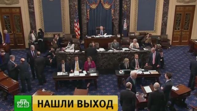 Сенат США утвердил резолюцию, возобновляющую работу госучреждений встране.Нью-Йорк, США, памятники.НТВ.Ru: новости, видео, программы телеканала НТВ
