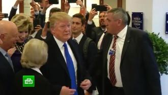 «Мы на одной волне»: Дональд Трамп провел встречу с Терезой Мэй в Давосе