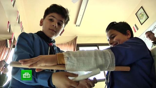 ОБЖ может войти в учебную программу сирийских школ.Сирия, войны и вооруженные конфликты, дети и подростки, образование, школы.НТВ.Ru: новости, видео, программы телеканала НТВ