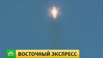 <nobr>Ракета-носитель</nobr> <nobr>«Союз-2</nobr>.1а» вывела спутники на целевую орбиту