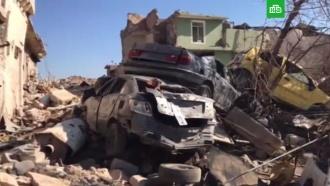 Разлагающиеся тела иразрушенные дома: видео из освобожденного коалицией США Мосула
