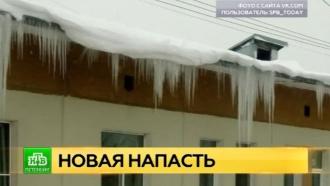 Петербуржцам не дают прохода сосульки
