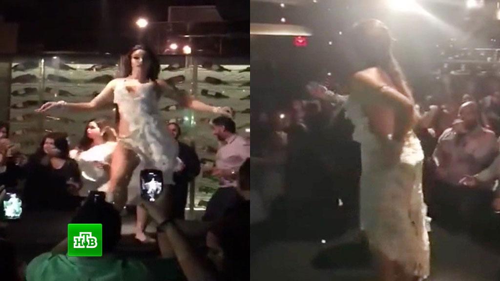 Секс с пермячками видео в клубе, девушку со связанными руками ебут во все дыры порно