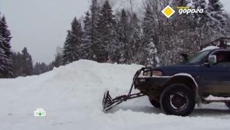 Вснегопады водители скупают лопаты ипревращают внедорожники вгрейдеры