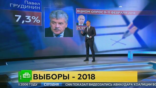 ВЦИОМ измерил предвыборный рейтинг кандидатов впрезиденты.ВЦИОМ, Путин, выборы, рейтинги, социология и статистика.НТВ.Ru: новости, видео, программы телеканала НТВ