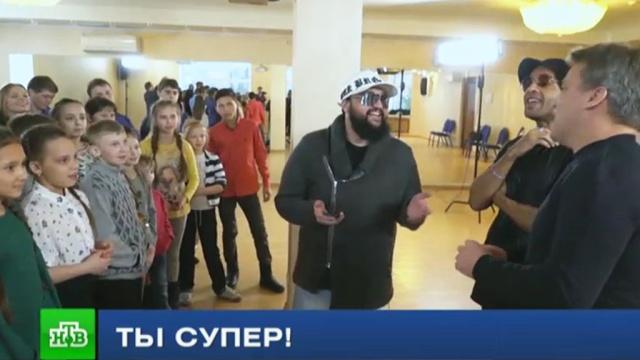 Музыканты «Группы ПМ» научили участников «Ты супер!» справляться со страхом сцены.НТВ.Ru: новости, видео, программы телеканала НТВ