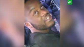 ВВолгограде эфиоп покусал бойца Росгвардии ипомял служебное авто