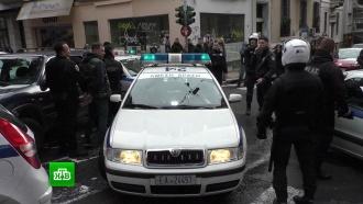 Украинские фанаты разгромили кафе сроссиянами вАфинах