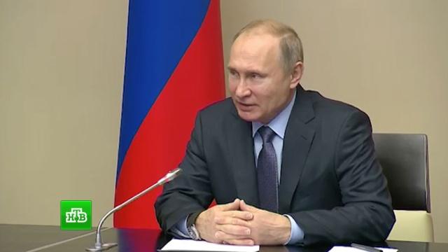 Путин на встрече с Миллером поздравил «Газпром» с 25-летием.газ, Газпром, компании, Путин, экономика и бизнес.НТВ.Ru: новости, видео, программы телеканала НТВ