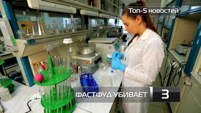 Топ-5 новостей из мира науки и технологий по версии «Чуда техники», 18 февраля.еда, здоровье, изобретения, наука и открытия, продукты, технологии.НТВ.Ru: новости, видео, программы телеканала НТВ