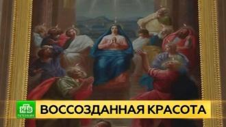 Реставраторы воссоздают в Ораниенбауме иконы и интерьеры церковного павильона