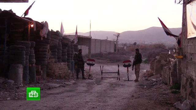 Гуманитарная пауза: вВосточной Гуте откроют коридор для женщин идетей.Сирия, армии мира, армия и флот РФ, войны и вооруженные конфликты, терроризм.НТВ.Ru: новости, видео, программы телеканала НТВ
