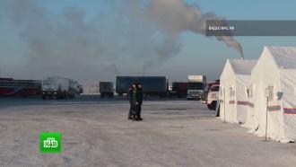 Мороз крепчает: на российских трассах появились пункты обогрева