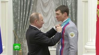 «Характер забрать нельзя»: Путин поблагодарил олимпийцев за победы на Играх