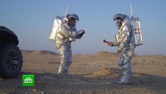 Пустыню Омана превратили в марсианскую колонию и засеяли овощами