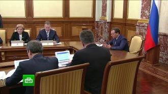 Медведев поручил начать реализацию задач из послания Путина