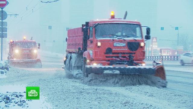 Снегопад в Москве может стать самым мощным за последние 68 лет.Москва, весна, морозы, погода, снег.НТВ.Ru: новости, видео, программы телеканала НТВ