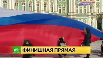 Петербургские школьники приглашают болельщиков за 100 дней до ЧМ-2018