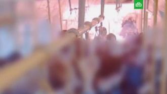 Опубликовано новое видео взрыва в вагоне лондонского метро на «Парсонс Грин»