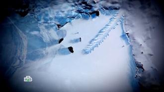 Ученые и коспирологи строят версии появления «разбившегося НЛО» в Антарктике