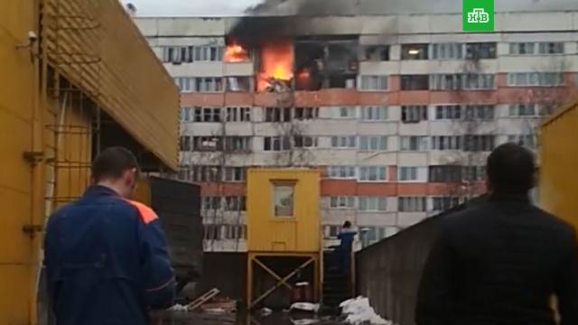 Два человека пострадали при взрыве вжилом доме Петербурга.Санкт-Петербург, взрывы.НТВ.Ru: новости, видео, программы телеканала НТВ