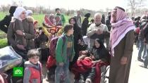 Тысячи раненых и истощенных людей покинули Восточную Гуту
