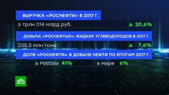 Выручка «Роснефти» впервые превысила 6 трлн рублей