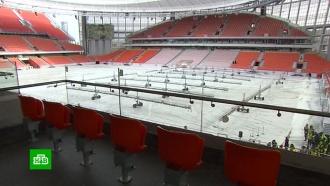 FIFA довольна стадионом в Екатеринбурге