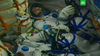 «Союз» сновым экипажем МКС стартовал сБайконура