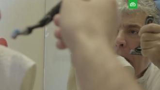 Грудинин лишил себя усов перед видеокамерой