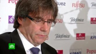 Полиция Германии задержала Карлеса Пучдемона