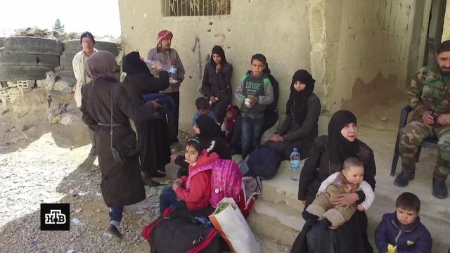 «Спасибо Путину»: мирные сирийцы возвращаются вразрушенные боевиками районы.Исламское государство, Сирия, армия и флот РФ, войны и вооруженные конфликты, гуманитарная помощь, терроризм.НТВ.Ru: новости, видео, программы телеканала НТВ