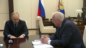 Путин потребовал не допустить паники в&nbsp;Кемерове <nobr>из-за</nobr> вбросов через соцсети