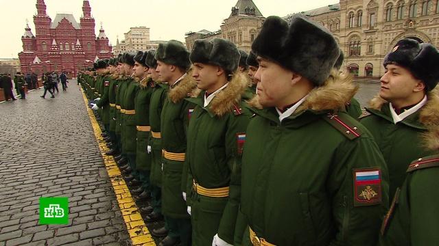 Сотни кремлевских курсантов получили дипломы на Красной площади.армия и флот РФ, выпускники, Красная площадь.НТВ.Ru: новости, видео, программы телеканала НТВ