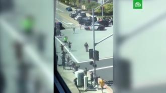 Очевидцы: в<nobr>штаб-квартире</nobr> YouTube произошла стрельба