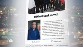 Саакашвили нашел новую работу вНидерландах