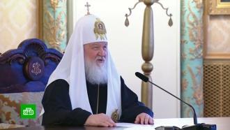 Патриарх Кирилл поздравил с Пасхой российских военных в Сирии