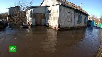 Взатопленные районы Волгоградской области спасатели везут еду илекарства