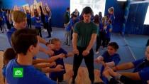 Участники «Ты супер!» учатся устудентов-мхатовцев актерскому мастерству.НТВ.Ru: новости, видео, программы телеканала НТВ