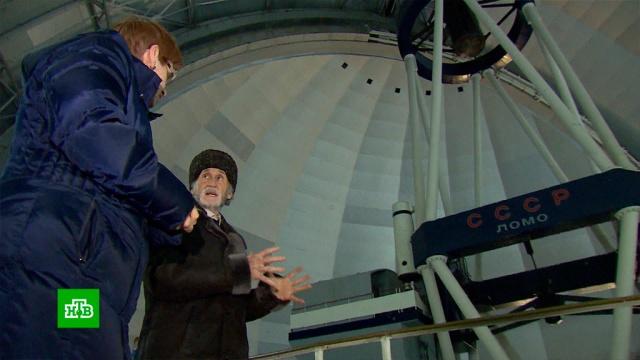 Пенсионер из Карачаево-Черкесии во дворе собрал телескоп для обсерватории.астрономия, Карачаево-Черкесия, пенсионеры, наука и открытия.НТВ.Ru: новости, видео, программы телеканала НТВ