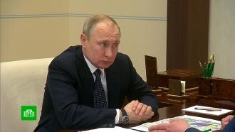 Глава Волгоградской области доложил Путину о ситуации с паводками