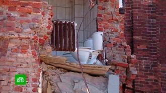 Жильцы обрушившегося в Ногинске общежития отказались покидать свои комнаты