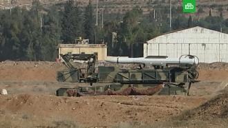 «Бук» против крылатых ракет: опубликованы кадры аэродрома Меззе после удара коалиции
