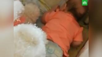 Пьяная москвичка записала на видео, как избивает трехмесячную дочь