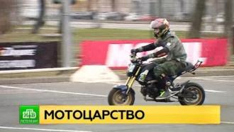 На престижную мотовыставку в Петербург съехались байкеры из нескольких стран