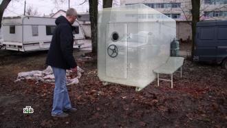 «Барокамера Гагарина» полгода валялась на стоянке без присмотра