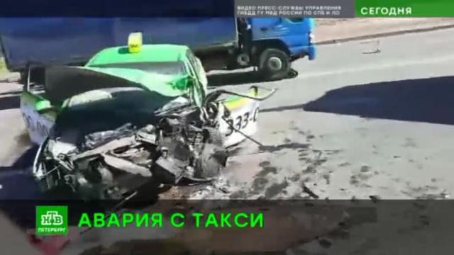 ВПетербурге водитель такси устроил массовое ДТП.ДТП, Санкт-Петербург, такси.НТВ.Ru: новости, видео, программы телеканала НТВ