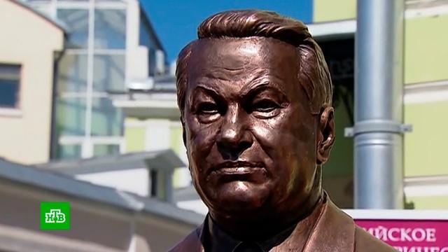 Памятник Ельцину появился на Аллее правителей вМоскве.Ельцин, Москва, памятники.НТВ.Ru: новости, видео, программы телеканала НТВ