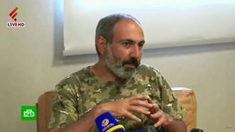 Лидер армянской оппозиции Пашинян пообещал новые протесты вЕреване